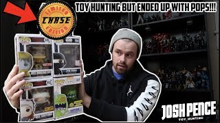 EPISODE 40 - TOY HUNTING FOR MARVEL LEGENDS, WWE ELITES, FUNKO POPS AND MORE!!! CHASE FOUND!!
