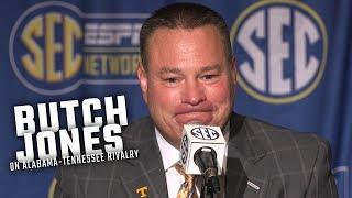 Butch Jones talks about Alabama