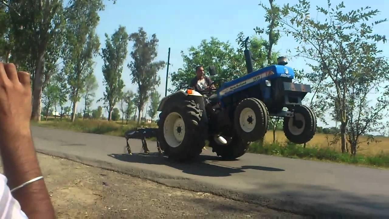 ford 3630 stunt mania ashar buttar - YouTube