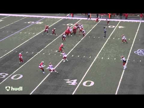 Tigi Hill Mesa Community College Football 2013 Highlights
