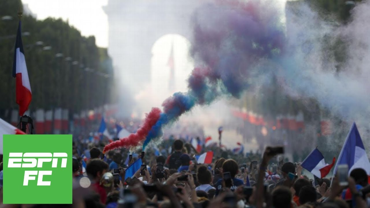 France's epic World Cup celebrations: Why the 2018 title means more than 1998 | ESPN FC