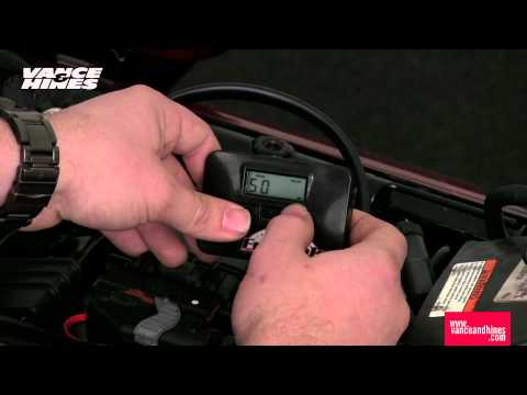 Fuelpak LCD Programming Instructions, 2012 Harley-Davidson CVO Touring