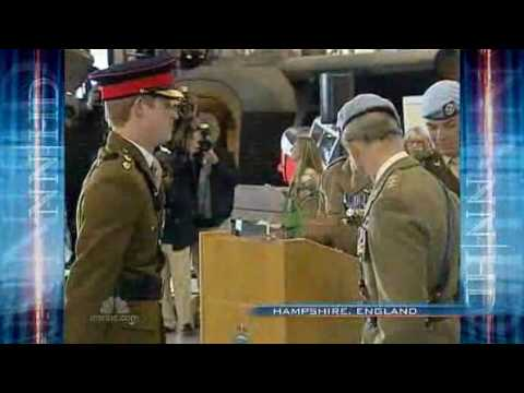 Prince Harry to get Apache helicopter wings 8 May 2010 msbc.com.flv