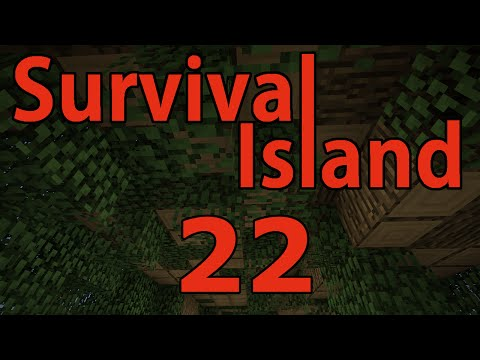 Minecraft- Survival Island [22] Massive Tree Farm!