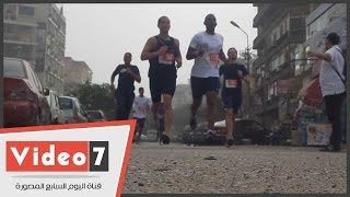 بالفيديو.. نصف ماراثون بالقاهرة برعاية