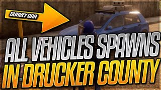 STATE OF DECAY 2 VEHICLES GUIDE - VEHICLE LOCATIONS IN STATE OF DECAY 2 DRUCKER COUNTY