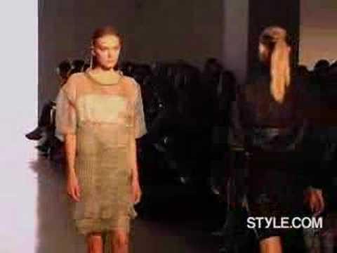 2007 SPRING/SUMMER runway-Calvin Klein