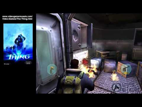 The Thing (2002) (PC) Walkthrough - Pyron Sub Alpha - Operations Room - July 16, 2014