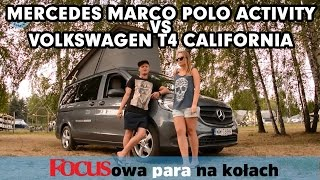 Mercedes Marco Polo Activity i Volkswagen T4 California