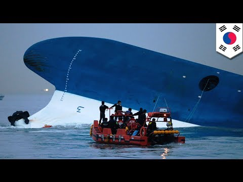 South Korea ferry accident: More than 300 missing after passenger ship capsizes