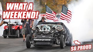 World Cup Day #4 - Leroy Goes Out in a BLAZE OF GLORY! (Racing World's Fastest AWD Civic!)