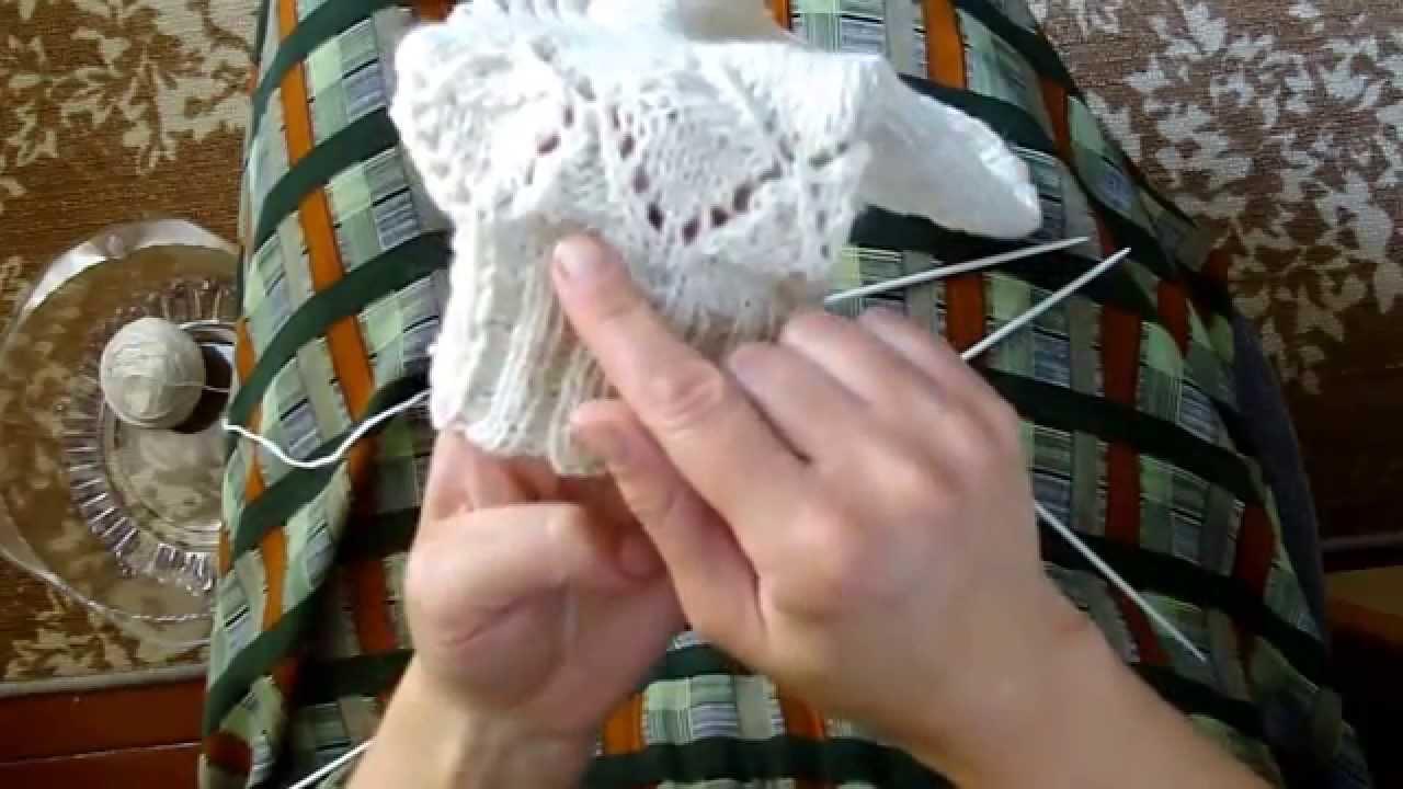 Ютуб вяжем носки спицами
