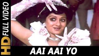 Aai Aai Yo   Asha Bhosle   Guru 1989 Songs   Mithun Chakraborty, Sridevi, Nutan