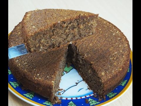 Шоколадно-ореховое пирожное!