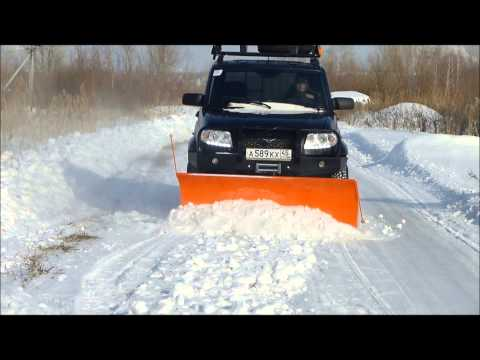 Снегоуборочный отвал для а/м УАЗ Патриот