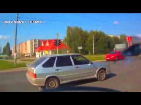 Russian Car Crash Compilation/ Accidents & Road Rage HD/ 2014