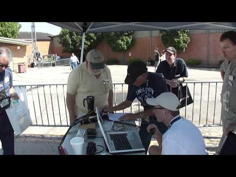 AMSAT at 2012 Dayton Hamvention - working VO-52 on Saturday 19 May 2012 @ 1436 UTC