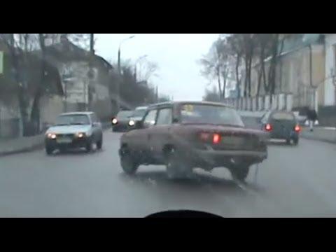погоня ДПС за пьяным водителем в г.Орел