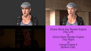 iClone 7 vs Unreal Engine Render Shootout #1