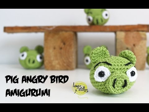 Download Tutorial Cerdo Angry Birds Amigurumi Pig (English subtitles