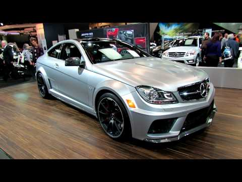 2012 Mercedes-Benz C63 AMG Coupe Exterior at 2012 Toronto Auto Show