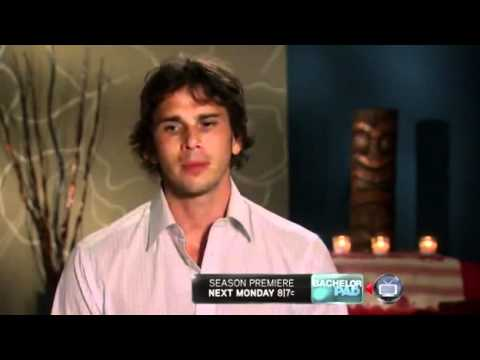 Bachelorette - Ben Flajnik Final Date w/ Ashley Hebert in Line & Dot