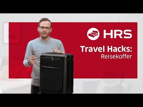 ► Insider Tipps: Top Reisekoffer im Test ✓ Besser unterwegs mit HRS ║ Koffer Tipps