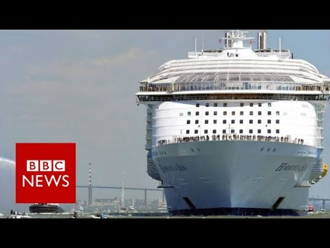 World's largest cruise ship: On board the Harmony Of The Seas - BBC News