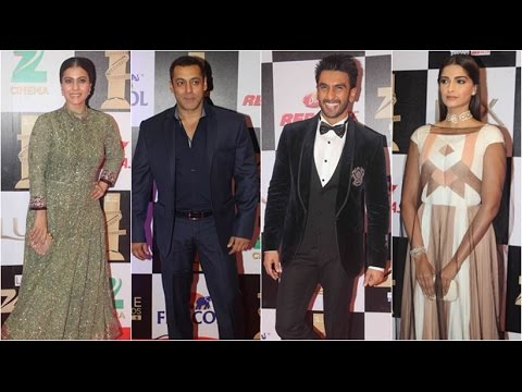 Check Out! Bollywood Celebs Who Attended Zee Cine Awards 2016