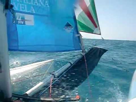 puntiroli oscar dudek pavol giro d'Italia 2011 catamarano mattia esse sport 18 real sailing italia 8