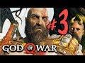 God of War (PS4) - Parte 3: Desventuras no Topo da Montanha!!! [ Playstation 4 Pro - Playthrough ]