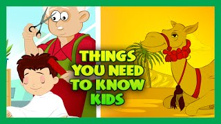 Things You Need To Know | General Knowledge For Kids | Things Kids Should Know