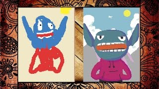 THE ART DISASTER - 90 SECOND PORTRAITS (Paint Epic Pictures Fast!)