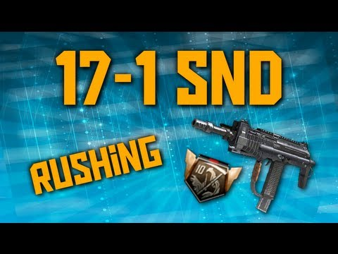 17-1 Rushing Search and Destroy w/ Merciless - Call of Duty Black Ops 2