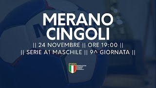 Serie A1M [9^]: Merano - Cingoli 32-27