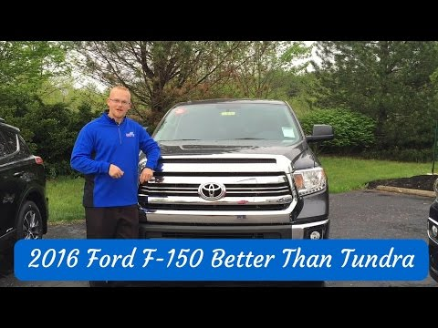 2016 Ford F-150 Better Than 2016 Toyota Tundra Indianapolis Indiana IN