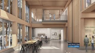 Portland OKs permit for all-wood high-rise