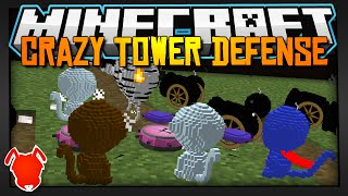Minecraft / CRAZY TOWER DEFENSE in 1.9! / Bloon Mini-Game!