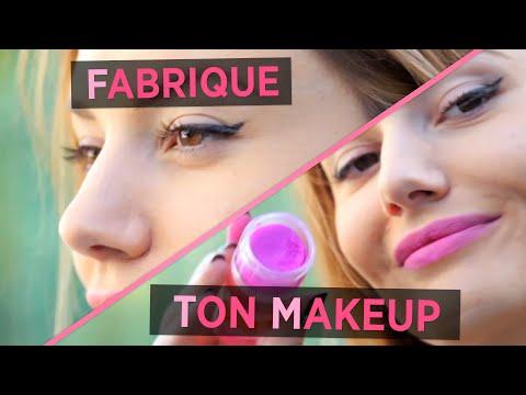 Faire son tag re et son make up soi m me ma petite - Faire son maquillage maison ...