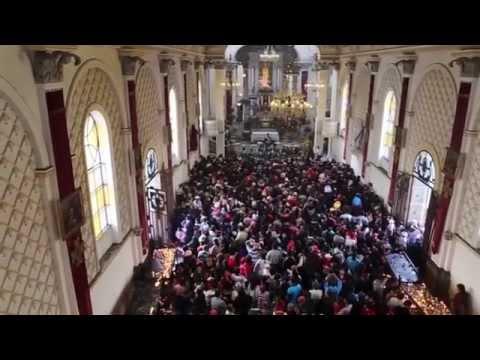 Familias guatemaltecas mostraron este viernes su devoción por la Virgen de Guadalupe