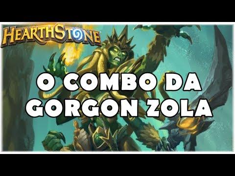 HEARTHSTONE - O COMBO DA GORGON ZOLA! (STANDARD QUEST GIANT MAGE)
