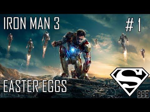 Iron Man 3: Hidden Easter Eggs & Secrets Part # 1
