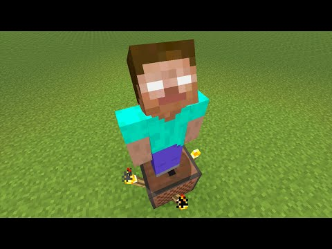 Minecraft Xbox360 PS3 SECRET HEROBRINE HOLOGRAM TUTORIAL