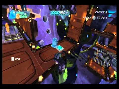 Monsters vs. Aliens Movie Game Walkthrough Part 14 (Wii)