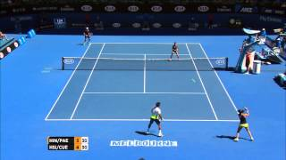 Shot of the day: Leander Paes (SF) - Australian Open 2015