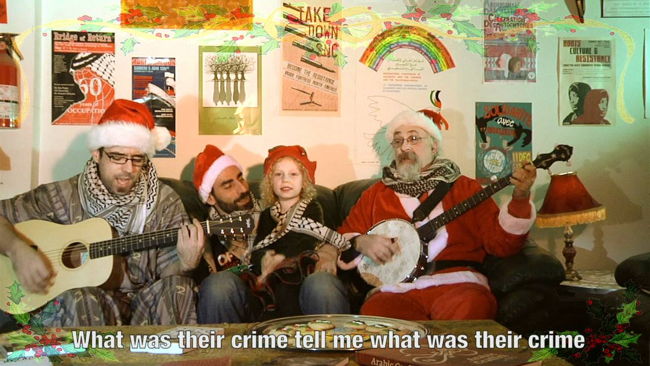 What Was Their Crime Yafa and The Sanity Claus sing for Gaza
