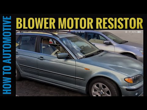 How to Replace the Blower Motor Resistor on a BMW 3 Series E46 1999-2005