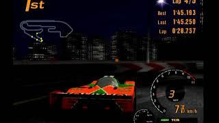 Gran Turismo 3 Arcade Mode Area F Special Stage Route 11 Reverse