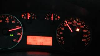 Fiat Stilo 1.2 16V Acceleration 0-100