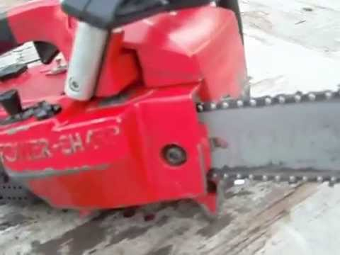 Craftsman 2.3/16 Chainsaw Power Sharp